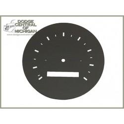 G-515 - Speedometer face plate
