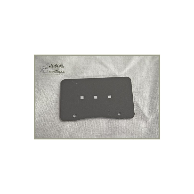 G-520 - Water, Oil, Amp, Fuel faceplates - each