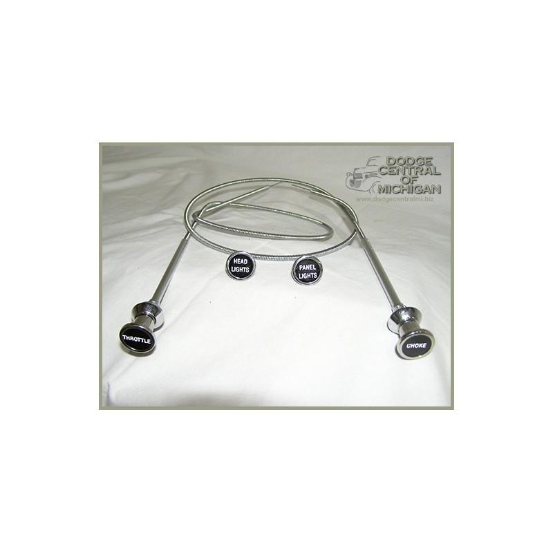 I-188 - Dash knob & Cable kit