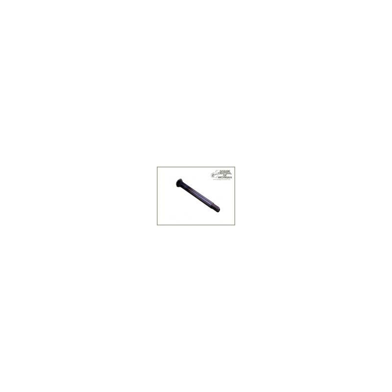 "B-508 - Door hinge pin w/threads 1/4'' x 3"""