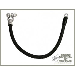 LE-247 - Battery Cable cotton braided black
