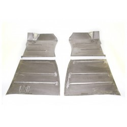 RP-1257  Floor pan set  (4 pec.) 61-71