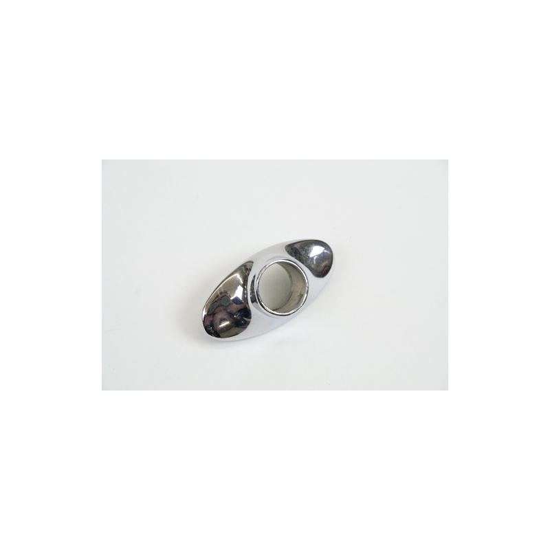 W-603 Wiper bezel chrome (48-53)
