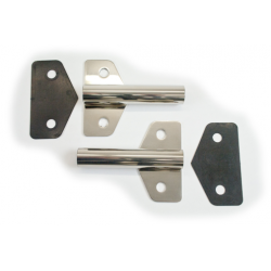 BP-160-48 Tail gate hinges Stainless Steel