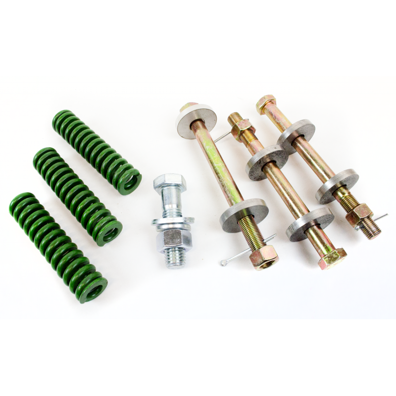 B-504-Kit Cab Mounting Bolts and Springs 39-47  (Steel)