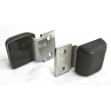 RW-163 - Hood bumpers w / bracket - pair