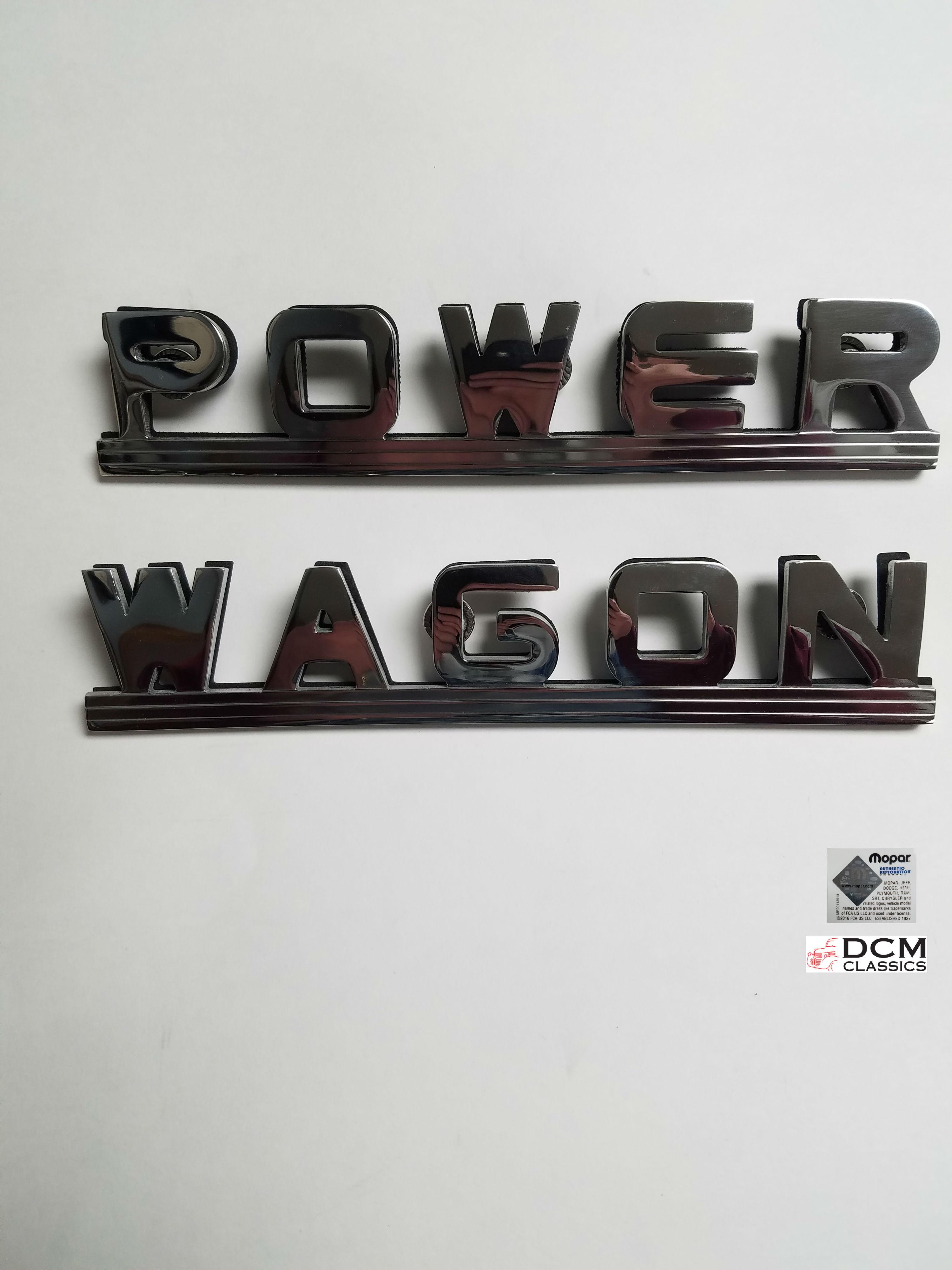 "B 229 PW ""POWER WAGON"" Emblem DCM Classics LLC"
