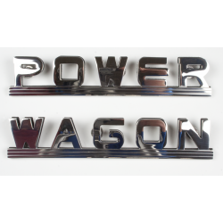 "B-229-PW  ""POWER WAGON""  Emblem"