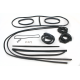 RW-4853-5-SK-NV Cab seal kit 5 window(48-53)(No vent windows) (with quarter glass)