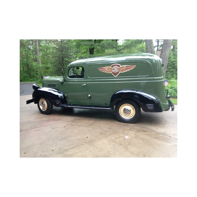 TS-1947-Dodge Panel-Truck