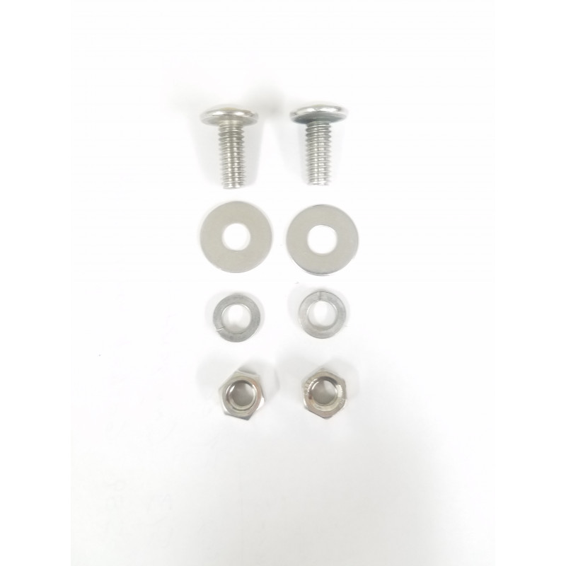 B-534   Lower front fender bolts S.S.  48-53