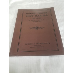 L-383-40  Shop Manual (1940)