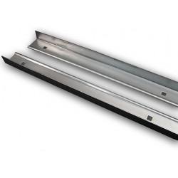 """BP-189-76 Corner Bed strips (pair) Steel 76"""" 53-80"""