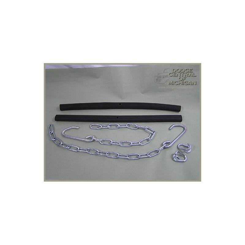 BP-505 - Steel tailgate chains - pair