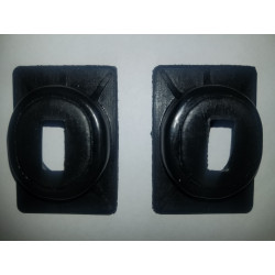 DA-140 - Brake & clutch pedal draft seals (pair)