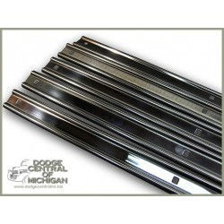 BP232-78-SS  Bed strips -  stainless steel 78''