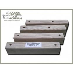 BP-529 - Running Board Spacer Blocks - set