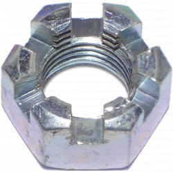 BR-770 Slotted crown nut
