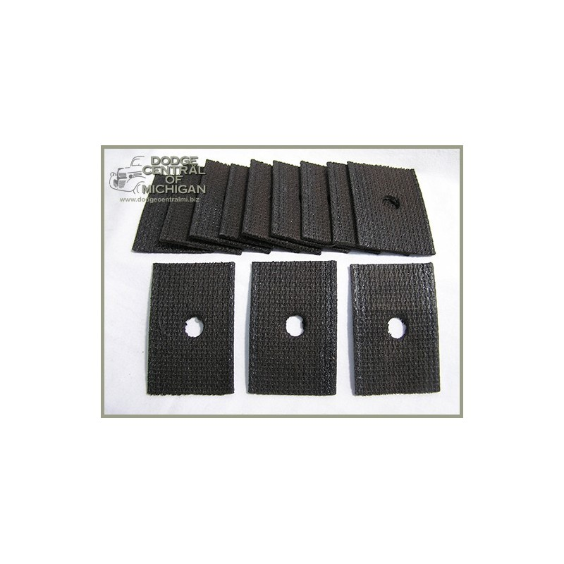 B-263 - Body mount kit pads ( Cab & Box set of 12 )