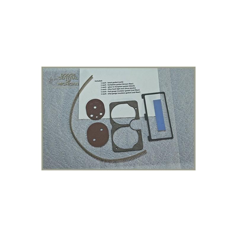G-741 Amp and Fuel gauge gasket kit