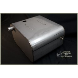 F-537-PW  Power Wagon Gas Tank Stainless steel