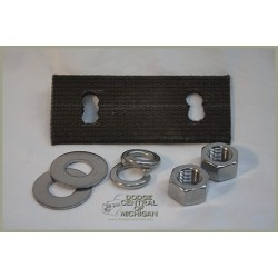 B-718 Radiator support lower bolt kit