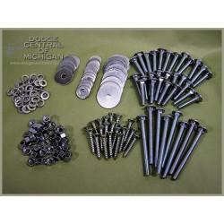 BP-171 - Zinc Plated Bed Strip bolt kit