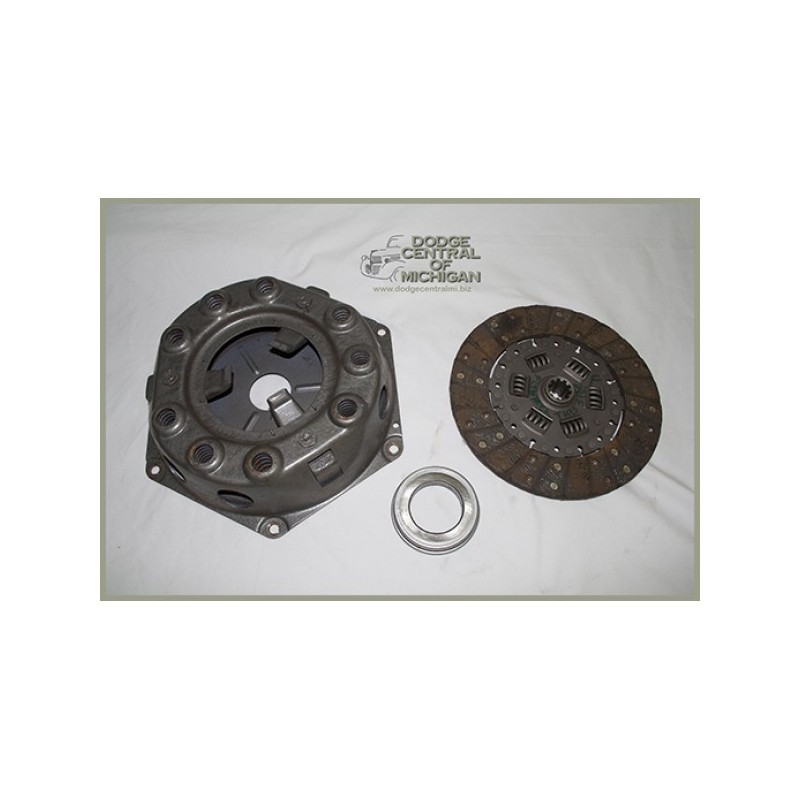 CC-306 - Complete Package - Clutch disc, pressure plate & throw-out