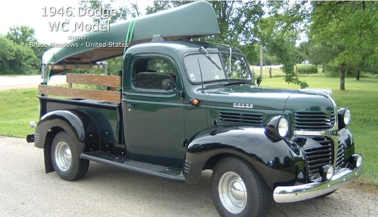 Green 1946 Dodge